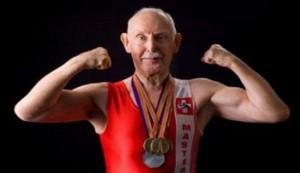 93-letni dentysta najstarszym kulturystą świata