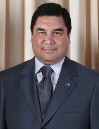 Gurbanguly Berdimuhammedow - prezydent dentysta (źródło: wikipedia.org)