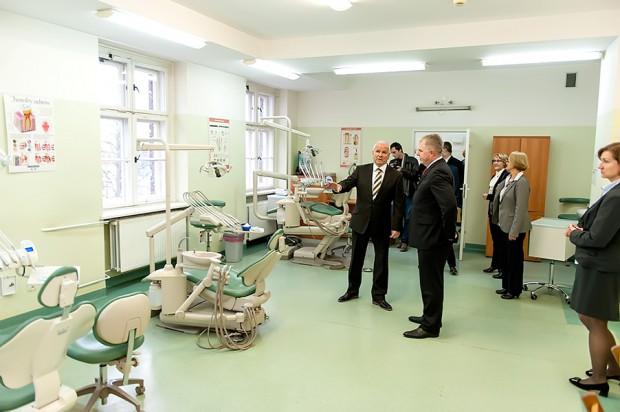 AM we Wrocławiu ma nową pracownię stomatologiczną (fot. Paweł Golusik)