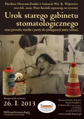 Zamek w Łańcucie stomatologiczną kapsułą czasu (fot. Muzeum Stomatologii)