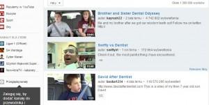 Pacjenci się boją, zawinił YouTube