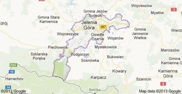 Jelenia Góra: zły wynik badań profilaktycznych uczniów (fot. Google Maps)