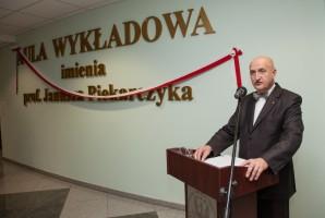 Prof. Janusz Piekarczyk ma swoją aulę w WUM