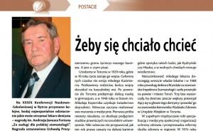 Sylwetki stomatologii: Kazimierz Bryndal