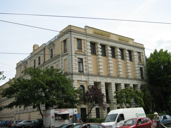 Uczelnie otwarte dla studentów dentystów z zagranicy - UM w Łodzi (źródło: Wikipedia)