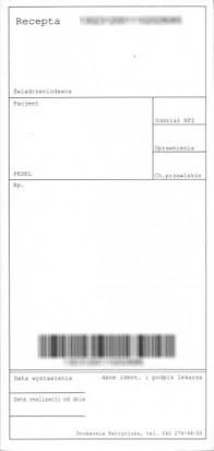 Centrala NFZ potwierdza  stare druki recept do wykorzystania (fot. infoDENT24.pl)