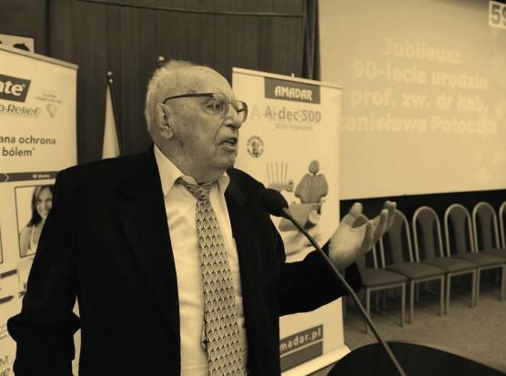 Zmarł prof. Stanisław Potoczek (fot. UM Wrocław)