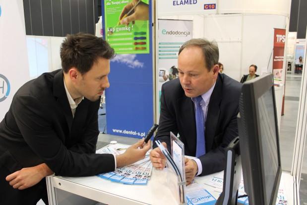 Marek Wiktorowski, współwłaściciel spółki Exactus, organizatora targów BALTDENTICA