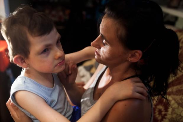 Poświęciła zdrowie dla dziecka, fundacja pomaga jej odzyskać uśmiech (fot. Fundacja Dr Laskus)