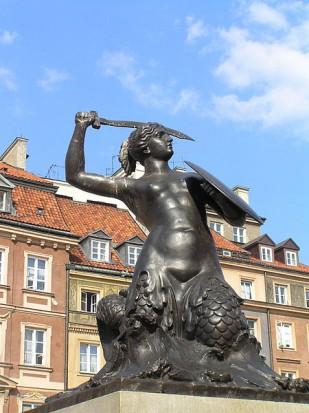 Warszawskie pomniki będą się uśmiechać (fot. wikipedia.org)