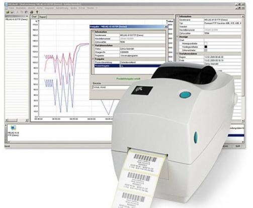 MELAcontrol  - system testowania autoklawów