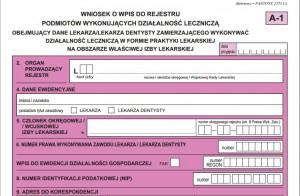 Wniosek o wpis w rejestrze praktyk – obowiązują nowe wzory