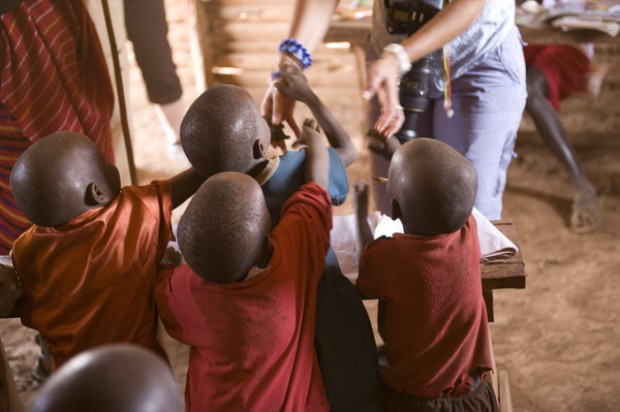 Dentysta w Afryce na zdjęciach