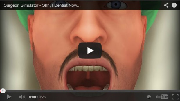 Surgeon Simulator 2013 w wersji stomatologicznej – poleje się krew