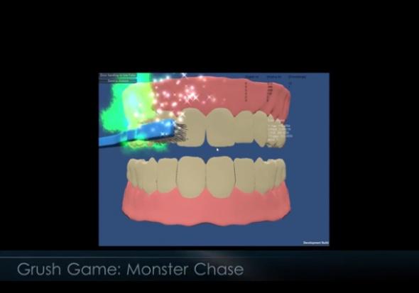 Grush: szczoteczka do zębów, czy konsola do gry?