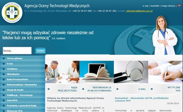 Rada Przejrzystości AOTM oceni programy profilaktyki próchnicy zębów