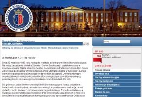 Jest konkurs na dyrektora Uniwersyteckiej Kliniki Stomatologicznej w Krakowie