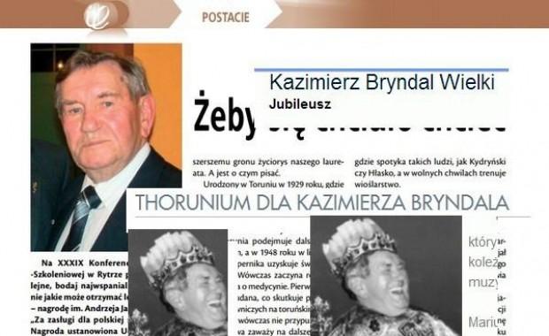 Znowu laury dla Kazimierza Bryndala