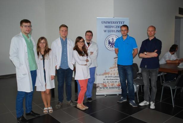 Studenckie Koło Naukowe Medycyny Jamy Ustnej i Medycyny Laboratoryjnej aktywne w czasie zjazdu dużych rodzin