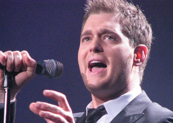 Michael Buble, ketchup i jego zęby
