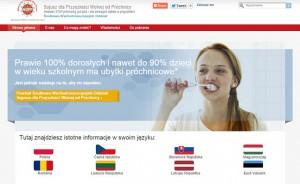 Polski Oddział Sojuszu dla Przyszłości Wolnej od Próchnicy już działa