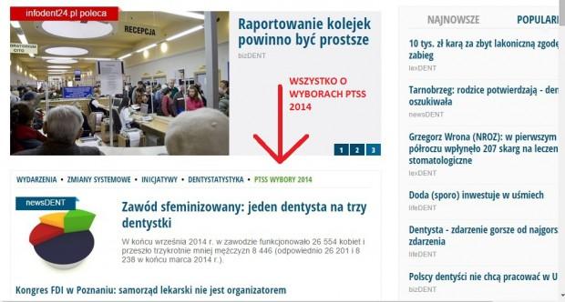 Wybory PTSS na łamach infoDENT24.pl