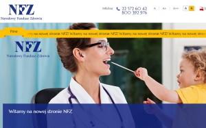 NFZ czeka na opinie o nowej wersji serwisu