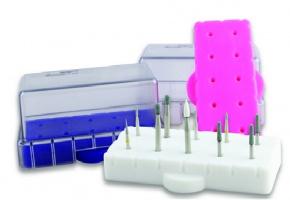 Silikonowe stojaki podwyższają bezpieczeństwo sterylizacji
