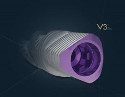 Implant stomatologiczny V3: natychmiastowe korzyści biologiczne