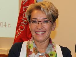 dr hab. Halina Borgiel-Marek, przedstawicielka Komisji ds. Współpracy Międzynarodowej NRL, członek prezydium ORL w Katowicach.