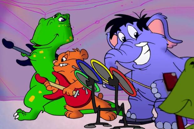 ADA propagandowe kreskówki w sprawie zębów dzieci