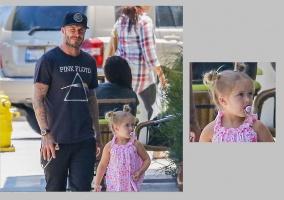 Rozpacz nad zębami córeczki Victorii i Davida Beckham