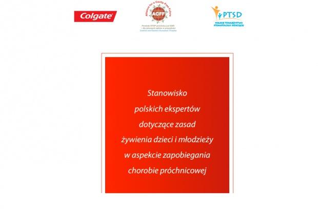 Jest kodeks żywienia dzieci i młodzieży w walce z próchnicą