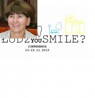 "Prof. zw. dr hab. n. med. Halina Pawlicka podczas ""ŁÓDŹ You SMILE?"""