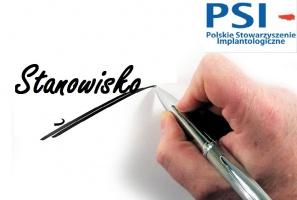 PSI o nadawaniu umiejętności w implantologii stomatologicznej