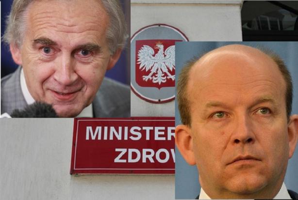 Dwaj ministrowie zdrowia: przyjaciele i przeciwnicy