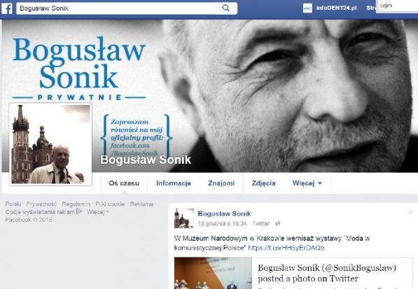 Co zrobił z implantami stomatologicznymi poseł Bogusław Sonik