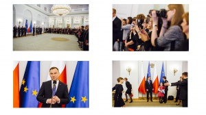 Prezydent Andrzej Duda wręczył nominację profesorską Joannie Zarzeckiej