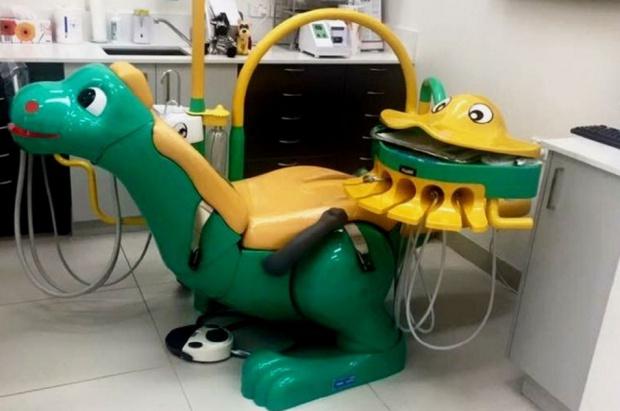 Gabinet dentystyczny, czy pokój zabaw?