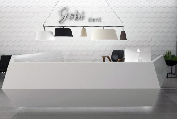 Nowoczesne materiały w gabinetach – powierzchnie