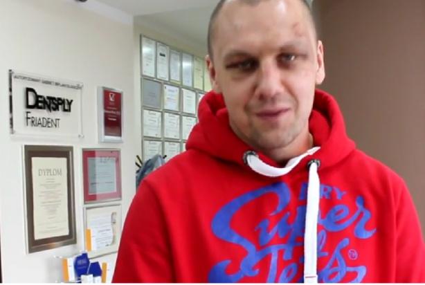 Krzysztof Głowacki mistrz świata WBO w Centrum Stomatologii Estetycznej