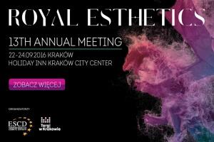 Royal Esthetics: XIII Kongres ESCD