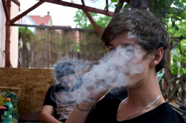 Marihuana szkodzi na zęby