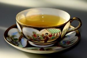 Zielona herbata dobra dla zębów