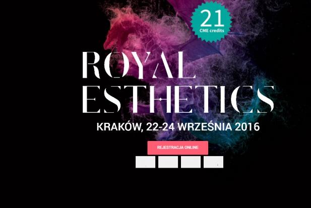 Platynowa Planmeca podczas 13th. Annual Meeting Royal Esthetics
