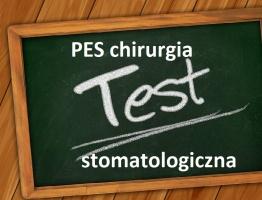 Znamy wyniki testowej części PES z chirurgii stomatologicznej
