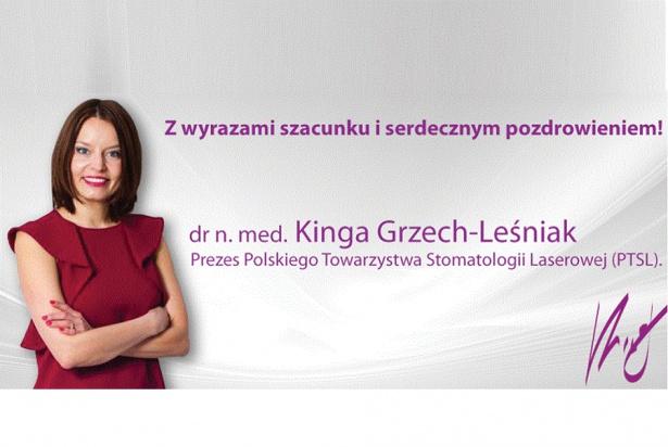 Sympatycy Polskiego Towarzystwa Stomatologii Laserowej na start