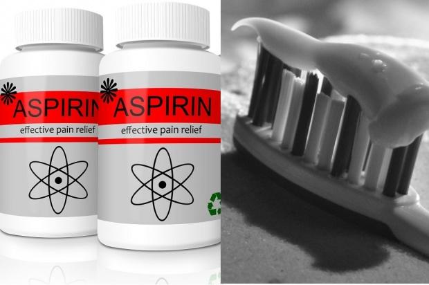 Pasta do zębów, niczym aspiryna, walczy z procesem zapalnym?