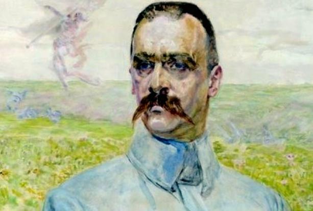 Józef Piłsudski jego zęby i sumiaste wąsy