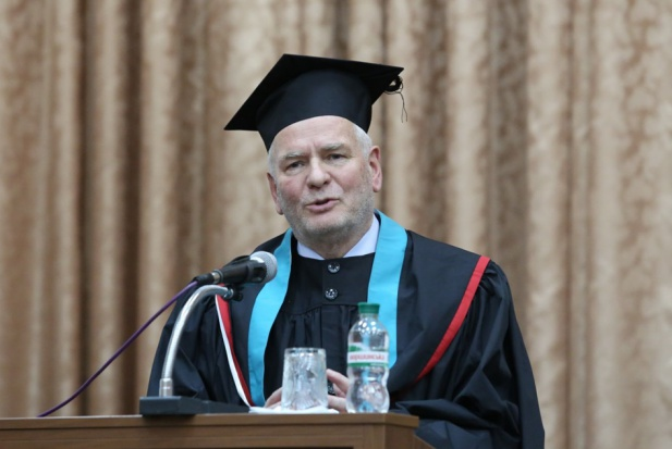 Prof. Marek Ziętek z tytułem doctor honoris causa Lwowskiego UM
